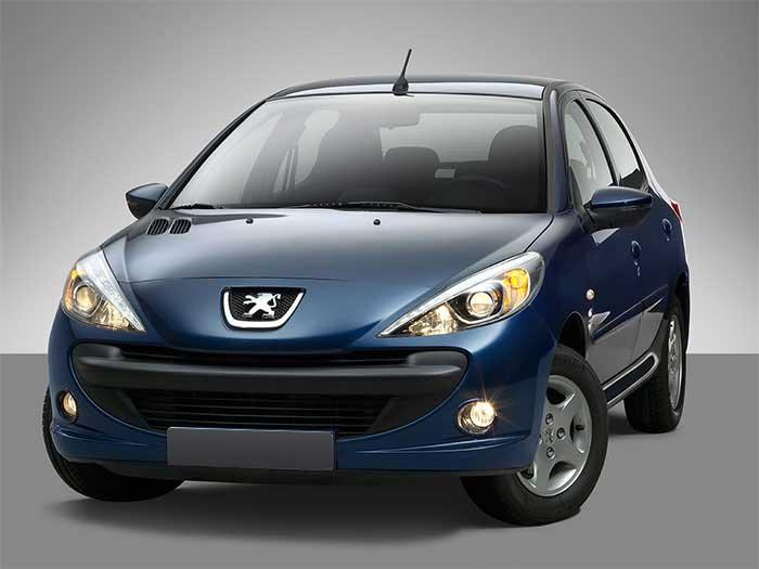 ثبت نام پژو 207 ایران خودرو